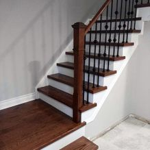 staircase and railing