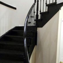 staircase and handrail